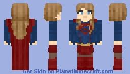 Supergirl (CW) Minecraft Skin