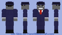Joe Fixit (The Grey Hulk) | Marvel Comics Minecraft Skin
