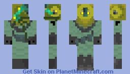 flooded diver Minecraft Skin