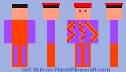 The Blaze Flame Corrupted Forster Skin Minecraft Skin