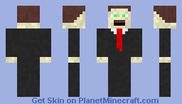 Bob the business man Minecraft Skin