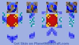 Warden of The Temple Minecraft Skin