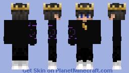 Corrupted Prince Minecraft Skin