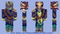 Sunken Cap'n Minecraft Skin