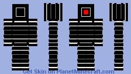 Elite Robot V1 Minecraft Skin
