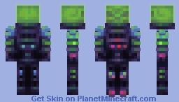 Skullcrusher (Nitgo's Evil Technology 1000 sub skin Contest) Minecraft Skin