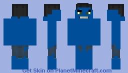 Hulk blue Minecraft Skin