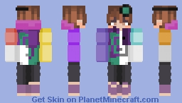 It all changes over time [Karl Jacobs Versions] Minecraft Skin