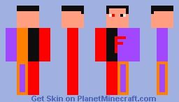 The BlazeForster Skin(Failed Converted Skin) Minecraft Skin