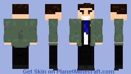 Senator White, Peyton Minecraft Skin
