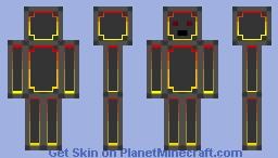 Lava Entity Minecraft Skin
