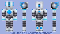 Air Robot Minecraft Skin