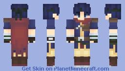 Ike FE Path Of Radiance (Remastered) Minecraft Skin