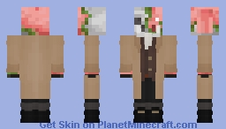 micheal in a trench coat :D (base outfit by Adrian_Games) Minecraft Skin