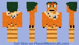 Ginger from Chicken Run Minecraft Skin