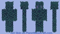 From the depths Minecraft Skin
