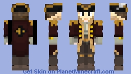 Pirate Blake Minecraft Skin
