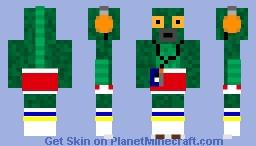 Fish Man - Dark Depths Skin Contest Minecraft Skin