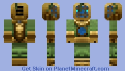Ghost Of A Deep Sea Diver Minecraft Skin