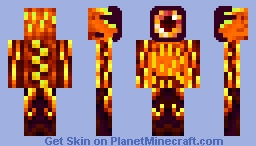 The Beast Of the Nether Minecraft Skin