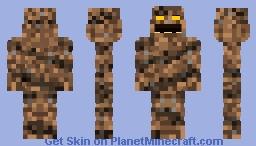 Clayface   DC Comics Minecraft Skin