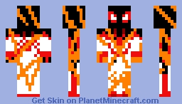 Spider man miles erect man Minecraft Skin