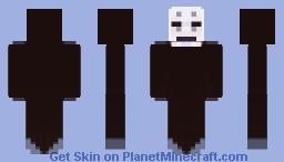 No-Face (Spirited Away) Minecraft Skin