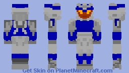 Transformers Prime: Breakdown Minecraft Skin