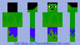 HULK!!!! Minecraft Skin
