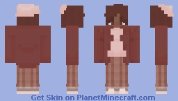 Light Academia Outfit Minecraft Skin