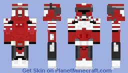 Commander Fox Minecraft Skin