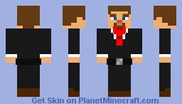 steve's older brother jeff Minecraft Skin