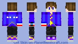 My New And Improved Sword And Shield Avatar Minecraft Skin
