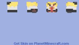 Oni (hopefully not living) Doll Model Molten [PMC Plush] Minecraft Skin