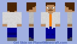 "SCP 451 ""Mr. Lonely"" Minecraft Skin"