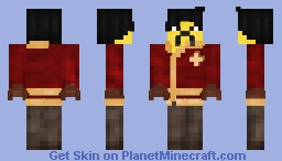 The Former Master of Fire | Ray Minecraft Skin