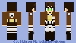 eren Minecraft Skin