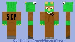 D-class Dino Minecraft Skin