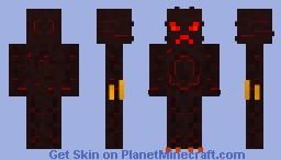 Volcanic Monster Minecraft Skin