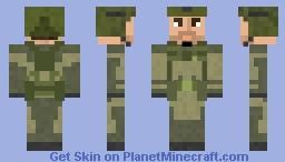 Spetsnaz Arma 3 Minecraft Skin