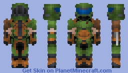 Doomslayer    DOOM ETERNAL Minecraft Skin