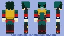 My Hero Academia - Midoriya Izuku (Newest Costume) Minecraft Skin