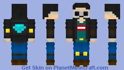 DanTDM/GeorgeNotFound/MumboJumbo Skin (Spongie's MCYT Contest) Minecraft Skin
