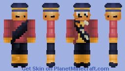 Mayor McCheese Minecraft Skin