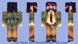 Harry Du Bois - Disco Elysium Minecraft Skin