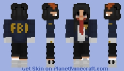 FBI elf Minecraft Skin