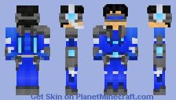 Overlord Aqua@2 Remodel v4 Minecraft Skin