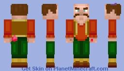 RTX Morshu Minecraft Skin