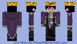 chaos king Minecraft Skin