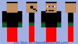 commander luke Minecraft Skin